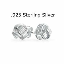 925 Sterling Silver Love Knots Women Jewelry Forever Elegant Love Knot Earrings