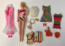 Vintage 1968-71 Barbie Talking Stacey Doll Jump into Lace #1823 Swirly Cue #1822