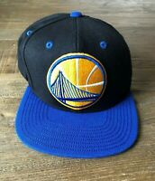 Golden State Warriors Basketball NBA Mitchell & Ness Adjustable Fit Cap Hat EUC