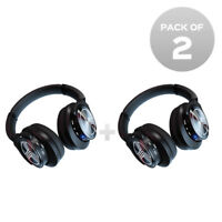 20276186310 TREBLAB Z2 Active Noise Cancelling Bluetooth Headphones Over Ear Pack of 2