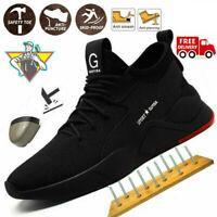 Chaussures De Sécurité Au Travail Pour Hommes Bottes à Bout D'acier Mouvement