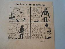 Humour La Bosse du Commerce Scaphandrier Image Print 1938