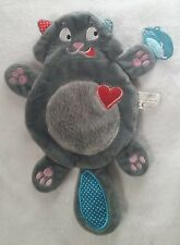 Mon doudou Bouboule Chat gris Souris MICHEL LAFON (neuf sans étiquette) D-298