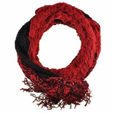 Bufanda de mujer de acrílico color principal rojo