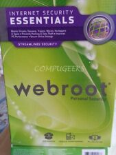 Webroot SecureAnywhere Security Essentials 2020 | 3YRS 5 PC/MAC DOWNLOAD