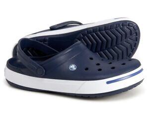 Crocs Crocband II Clog Men's Size 11 Navy Blue 11989-42T NWT