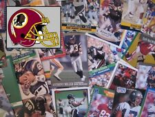 WASHINGTON REDSKINS - 1,000 Card Megalot (Assorted Players, Years, Companies)