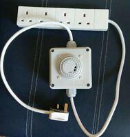 Grow Light Contactor / Timer. Gro-lec Grasslin Optimum Lighting Relay 4x 600