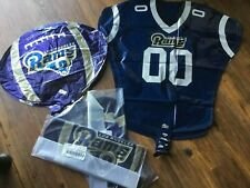 Los Angeles Rams LA Football NFL Party Supplies Sports Team Balloons X 52 NEW