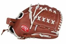 "Rawlings Fastpitch Softball R9 Series 12.5"" Pitcher Glove LHT R9SB125-18DB"