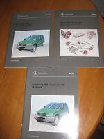 Mercedes W 163 - Service - Instandhaltung 3 x Bücher - M - Klasse --1998/99