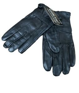 Ladies Leather Gloves Womens Soft Leather Warm Winter Casual Driving Gloves