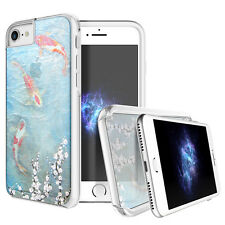 "Prodigee Show Koi Fish Clear iPhone 7 4.7"" Clear 2 Piece Case Slim Thin Cover"