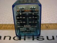 Deltrol Controls #20612-80 2PDT relay 24vdc coil lot of 4 pcs