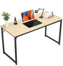 Writing Computer Desk 39 Inch Study Office Table Stylish Workstation Natural