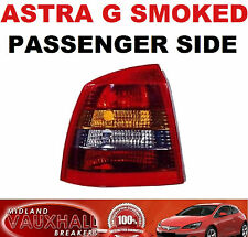 VAUXHALL ASTRA G MK4 SXI SRI GSI SMOKED REAR LIGHT LAMP LH PASSENGER NEAR SIDE