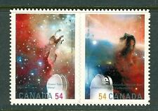 Canada SC#2325i Se-Tenant Pair Die Cut International Year of Astronomy MNH