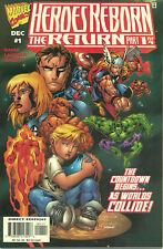 Heroes Reborn: The Return #1-4 (VF/NM 1st prints) (Complete Series)