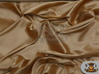 """Taffeta Solid Fabric GOLD / 58"""" Wide / Sold by the yard"""