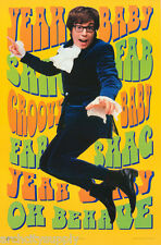 Poster :Movie Repro: Austin Powers - Yeah Baby ! - Free Shipping #2385 Lc12 U