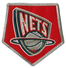 "2004 NEW JERSEY NETS NBA BASKETBALL 3.75"" DEFUNCT TEAM LOGO PATCH"