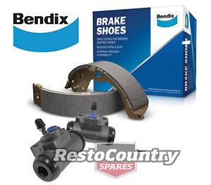 Holden Torana BENDIX REAR Drum Brake Shoes + Cylinder Set LH LX UC W/Front Disc