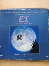 Michael Jackson John Williams E.T The Extra-Terrestrial Box Set Original 1982