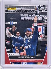 2017 JIMMIE JOHNSON PANINI INSTANT NASCAR CARD #8 BRISTOL WIN ONLY 69 MADE SSP!