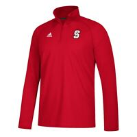 NC State Wolfpack NCAA Adidas Men's Sideline Definition Red Fleece