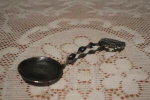 Vintage Silver Plated Cream / Sauce Ladle - Thomsen Knudsen Norway - Kings Cross