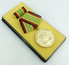 Medaille treue Dienste NVA in 900 Silber mit Halbmond SELTEN, Punze 9, Orden953