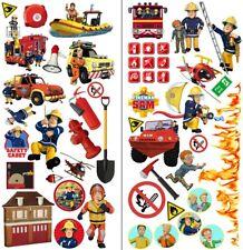 Feuerwehrmann Sam Wandtattoo Fireman Sam wall stickers Wandaufkleber 35cmX70cmx2
