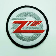 """ZZ TOP PATCH 3"""" AMERICAN ROCK BAND MUSIC"""