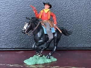 Britains Herald Swoppet Mounted Cowboy In Good Condition