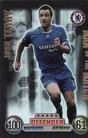 Match Attax 07/08 Blackburn Bolton & Chelsea Cards Pick From List