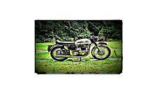 1968 Norton Atlas Bike Motorcycle A4 Photo Poster