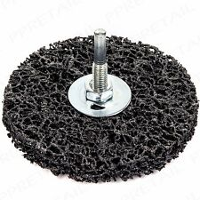 RUST & PAINT REMOVER DISC 100mm Heavy Duty Stripping Scale Grinder Drill Wheel