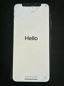 Apple iPhone XS 64GB (Used) - Space Gray - Cracked Screen