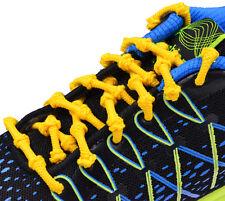 Knot Laces Elastic Shoelaces Triathlon Running No Tie Elasticated Shoe Knotz
