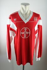 Bayer 04 Leverkusen Trikot 1986-1987 Gr. XL Adidas Home Shirt Jersey TSV 80s
