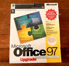Microsoft Office 97 Small Business Edition Unused Sealed Word Excel Outlook