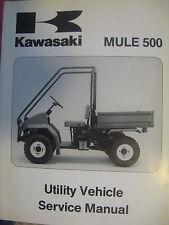Kawasaki Mule 500 KAF300  Factory Service/ Repair Manual
