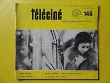 Téléciné n° 148 1968 Alain Decaux Claude Santelli ORTF télévision
