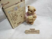 "Cherished Teddies "" Lela Nightingale Membears Only Figure "" Boxed"