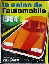 Le Salon de l'Automobile 1964 - Supplément à l'Auto-Journal - n° 359
