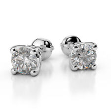 Sterling Silver Diamond Fine Earrings