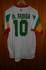 SENEGAL 2002 WORLD CUP AWAY FOOTBALL SHIRT JERSEY LE COQ SPORTIF #10 FADIGA