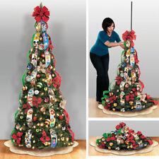 "Bradford Exchange Disney ""Wondrous Christmas"" Pre-Lit Pull-Up Tree New in Box"