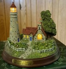 Thomas Kinkade Lighthouse Light of Peace Mint in Box Certificate of Authenticity