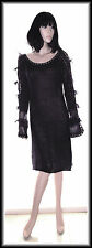 Nougat Women's  Angora Wool Crochet Knitted Dress size UK 14 EUR 42 RP £245